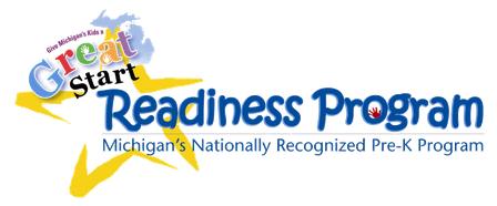 Logo for the Great Start Readiness Program